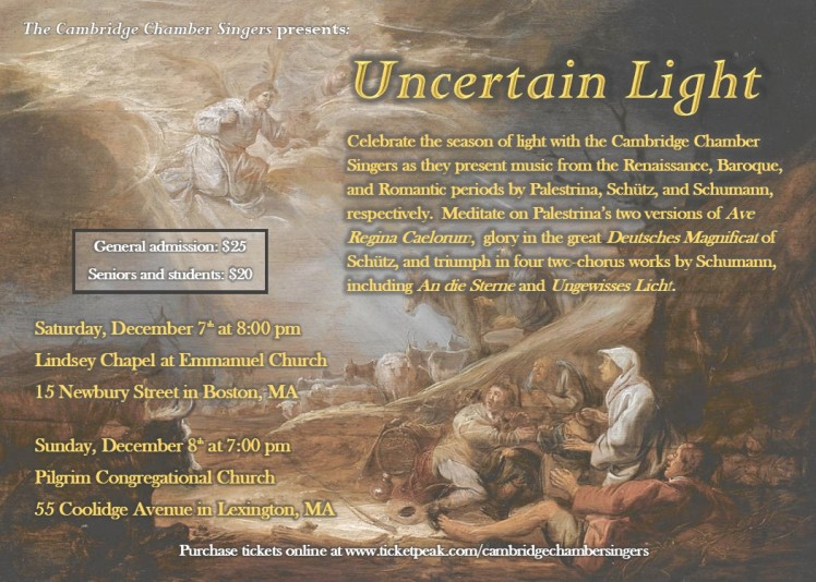 Uncertain Light Flyer-Postcard